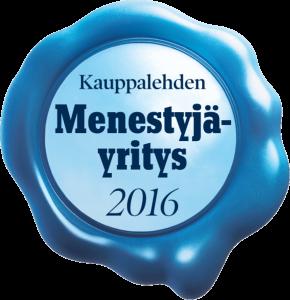 Softera Oy, Menestyjä 2016